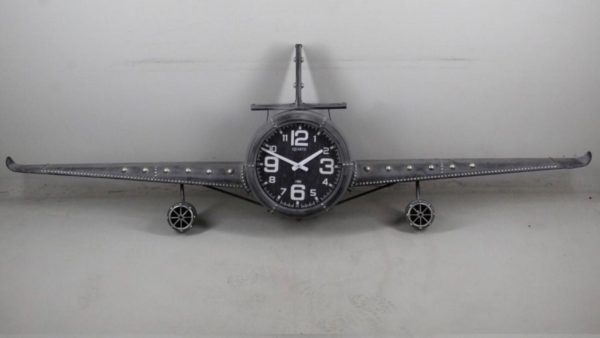 vliegtuig-klok-grijs-groot-