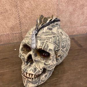 Skull spaarpot