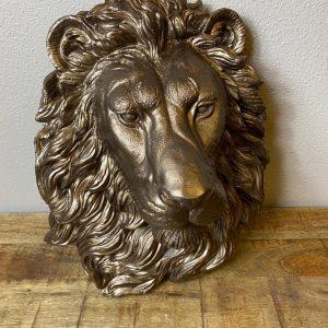 Leeuwenkop brons