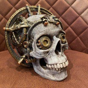 Steampunk skull stuurwiel
