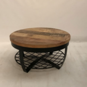 Anne salontafel 65cm staal